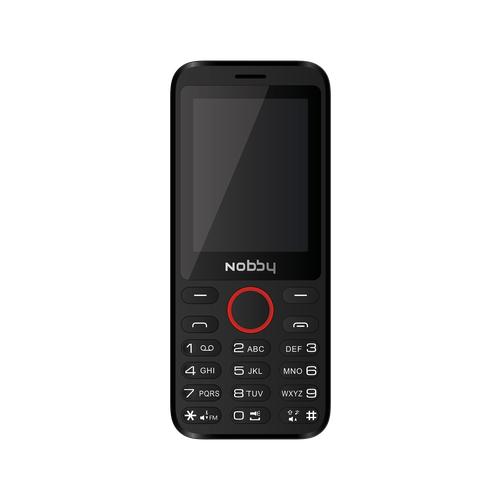 Телефон Nobby 231 черный / красный
