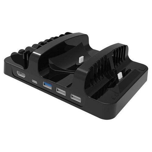 Dobe Зарядная станция Omnipotent Charging Stand для Nintendo Switch (TNS-854) черный