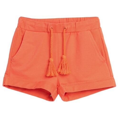 Шорты COCCODRILLO BASIC GIRL размер 110, коралловый шорты coccodrillo coccodrillo mp002xb00bxq