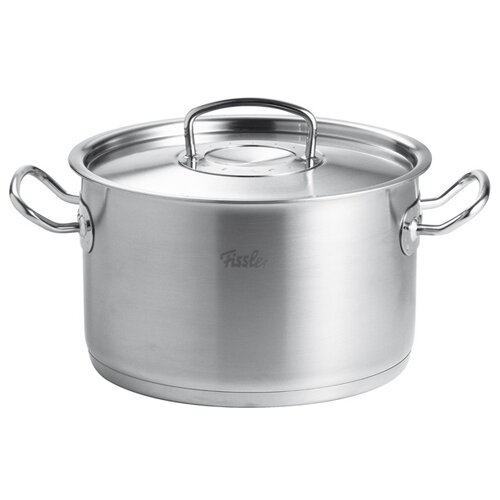 Кастрюля Fissler Original Pro Collection 6,3 л, стальной кастрюля fissler snack set 1 л 08126140