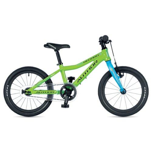 Детский велосипед Author Record 16 (2019) green/blue 9 (требует финальной сборки) дорожный велосипед author
