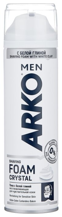 Пена для бритья Crystal Arko