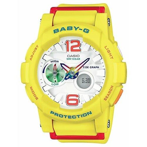 Наручные часы CASIO BGA-180-9B наручные часы casio bga 180 4b3