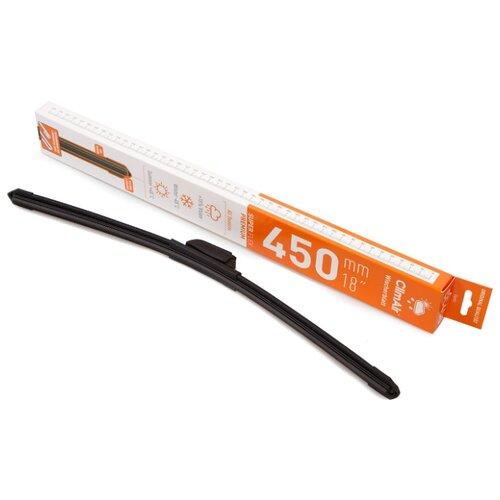 Щетка стеклоочистителя бескаркасная ClimAir CC-450 450 мм, 1 шт.