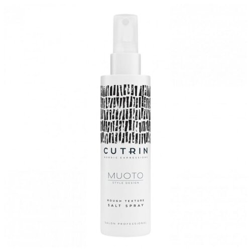 Cutrin Солевой спрей для укладки волос Muoto, 200 мл