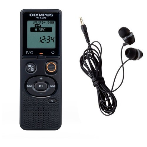 Диктофон Olympus VN-541PC + наушники E39 черный