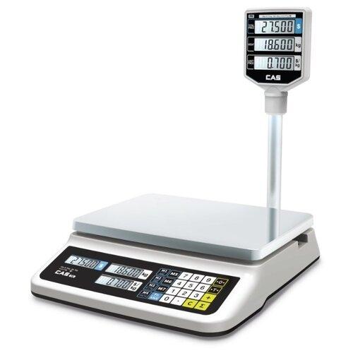 Весы торговые электронные CAS PR-15P (LCD, II) USB весы торговые электронные cas er jr 30cb