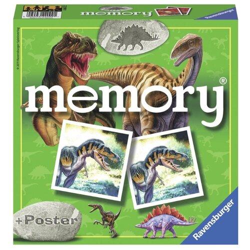 Настольная игра Ravensburger Мемори Динозавры ravensburger водная стихия 3х500
