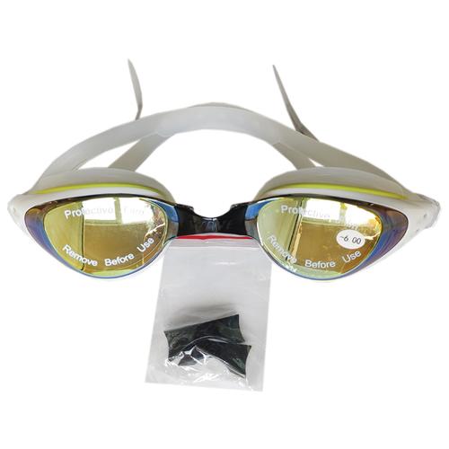 Очки для плавания Wave с диоптриями -6.0 очки для плавания mad wave spurt rainbow azure white