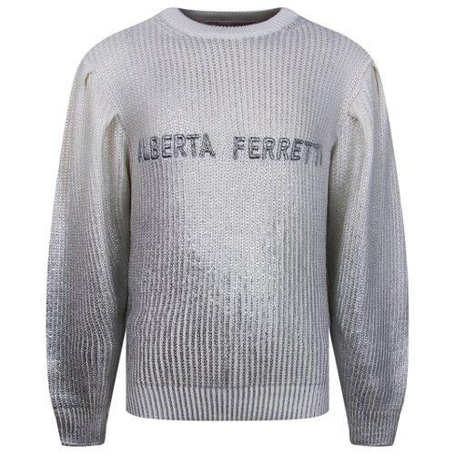 Купить Джемпер Alberta Ferretti размер 164, белый, Свитеры и кардиганы