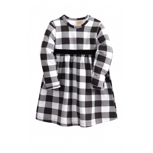 Платье Веселый Малыш размер 92, черный