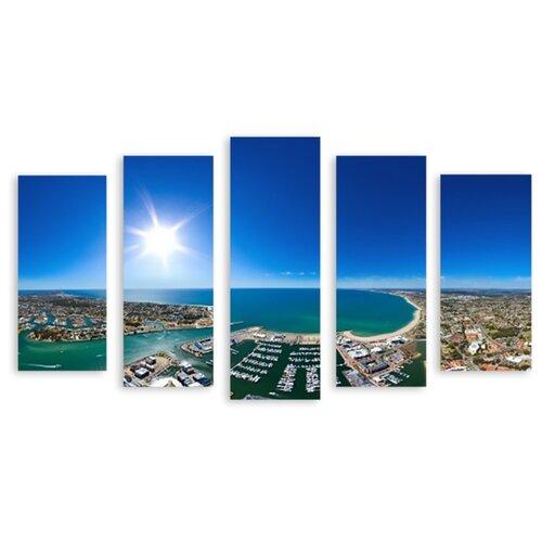 Модульная картина на холсте Солнечная Австралия 150x88 см василюк н худ солнечная австралия