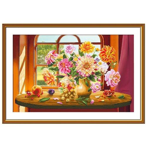 Купить Набор для вышивания Нова Слобода СР №18 2254 Вальс осени 46х29см, NOVA SLOBODA, Наборы для вышивания