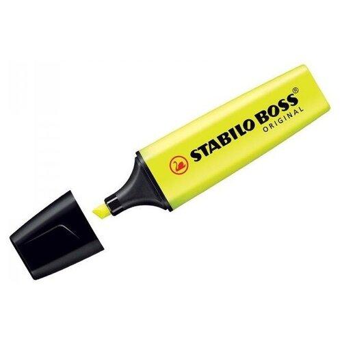 Фото - STABILO Текстовыделитель Boss Original (70), yellow 70/24 stabilo текстовыделитель boss original pastel 70 ванильный