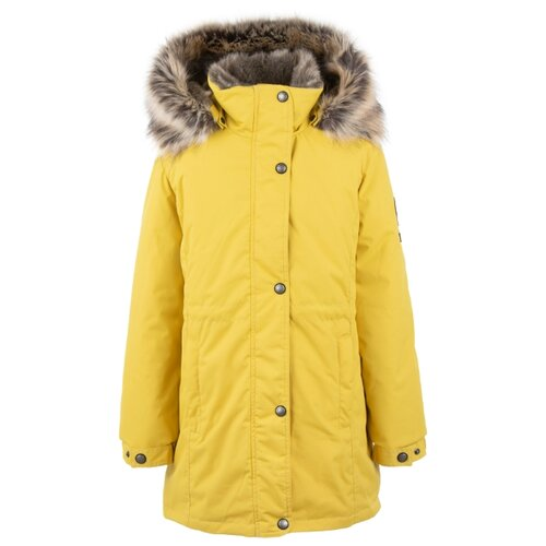 Купить Парка KERRY Edna K20671 размер 152, 00112 желтый, Куртки и пуховики