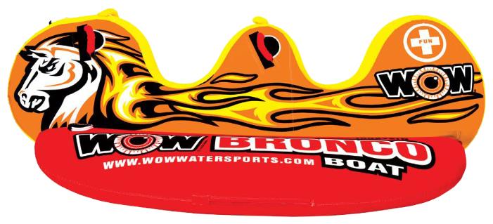 Буксируемый баллон WOW Bronco boat