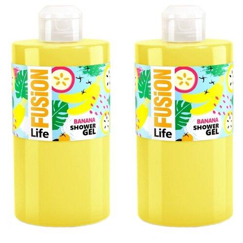 Гель для душа Fusion Life Тропический банан, 460 мл, 2 шт. гель для душа эдем банан 320 мл