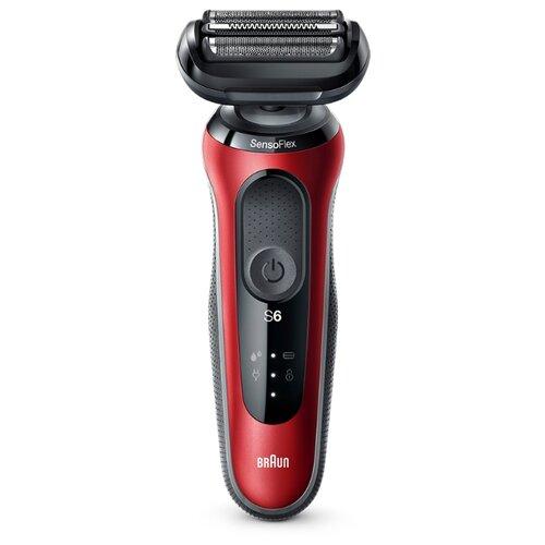 Электробритва Braun 60-N1000s/60-B1000s/60-R1000s Series 6 красный