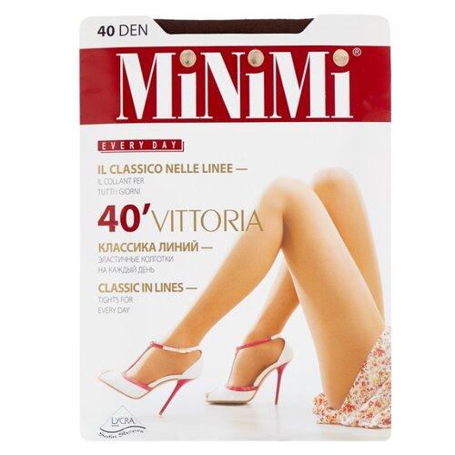 Колготки MiNiMi Vittoria 40 den, размер 5-XL, capuccino (коричневый) колготки minimi vittoria 20 den размер 5 xl cappuccino коричневый