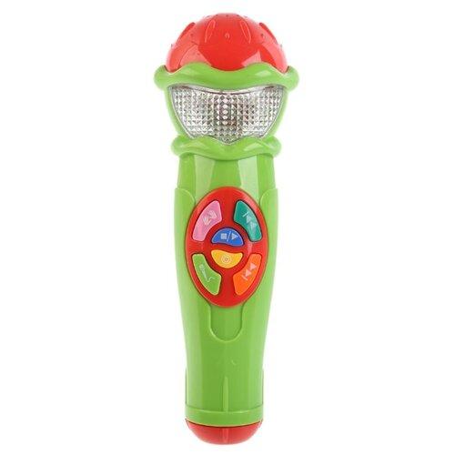 Купить Умка микрофон A848-H05031-R10 зеленый, Детские музыкальные инструменты