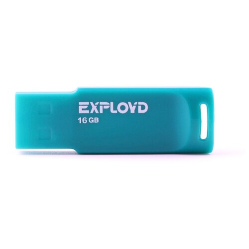 Фото - Флешка EXPLOYD 560 16GB green флешка exployd 560 16gb red