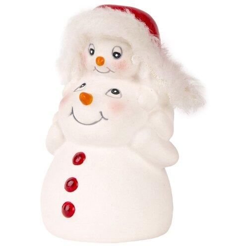 Фото - Фигурка Феникс Present Снежная семейка 8 см белый фигурка феникс present дедушка мороз 26 см белый голубой красный