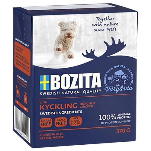 Влажный корм для щенков Bozita Naturals, курица 370г