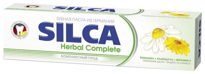 Зубная паста SILCA Herbal Complete — купить по выгодной цене на Яндекс.Маркете в Москве