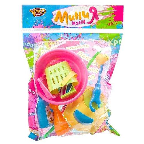 Набор для уборки Yako toys 8 предметов, МиниМаниЯ (M7633)