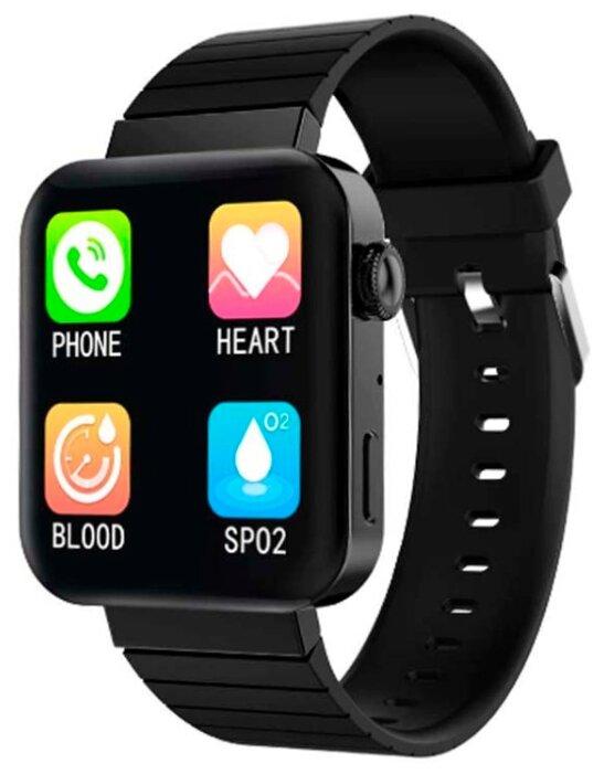Умные часы BandRate Smart BRSMI55, черный фото 1
