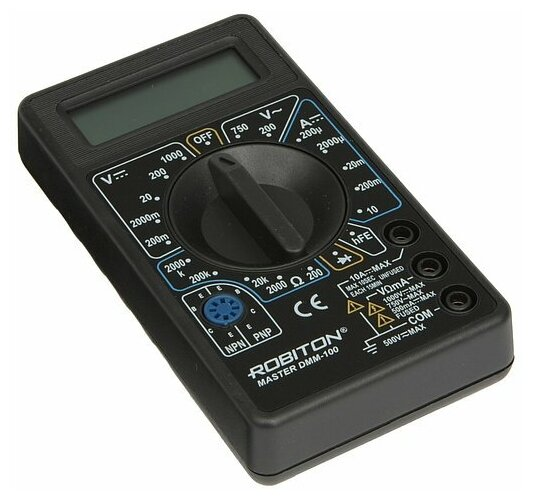 Мультиметр цифровой ROBITON DMM 100