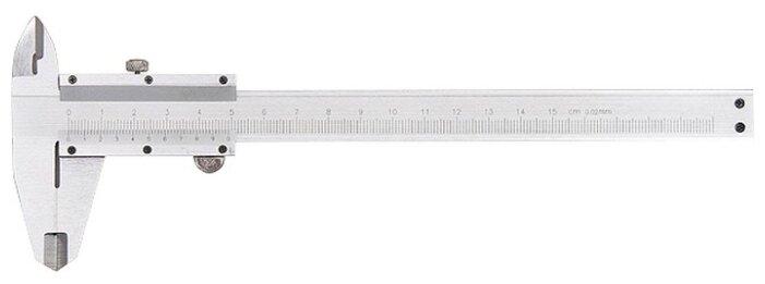 Нониусный штангенциркуль matrix 316325 200 мм, 0.02 мм