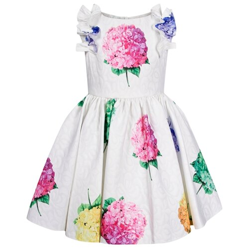 Платье David Charles размер 104, белый