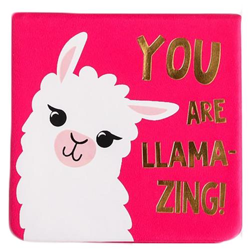 Купить ArtFox блок для записей в футляре 100% Ламмма You are LLAMAZING, 100 л. (4742242) розовый, Бумага для заметок