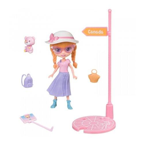 Купить Игровой набор Bondibon куколка OLY путешественница, 11.5 см, BB4317, Куклы и пупсы