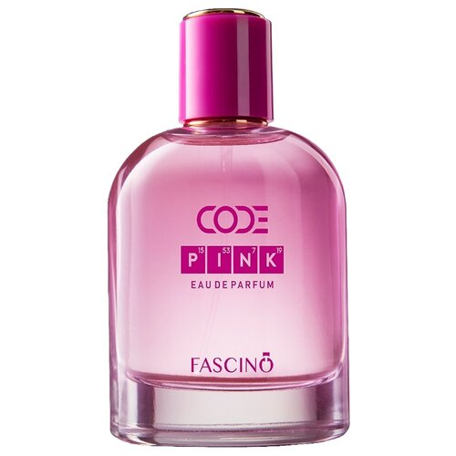 Парфюмерная вода Fascino Code Pink, 100 мл