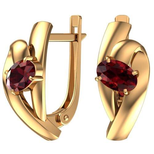Фото - POKROVSKY Золотые серьги с полудрагоценными камнями 2101238-00290 серьги с полудрагоценными камнями