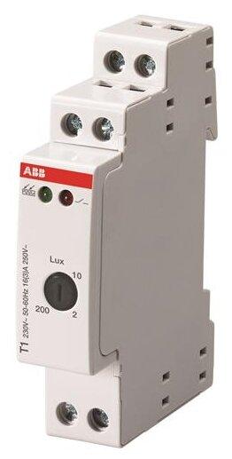 Сумеречный выключатель ABB 2CSM295723R1341 серый