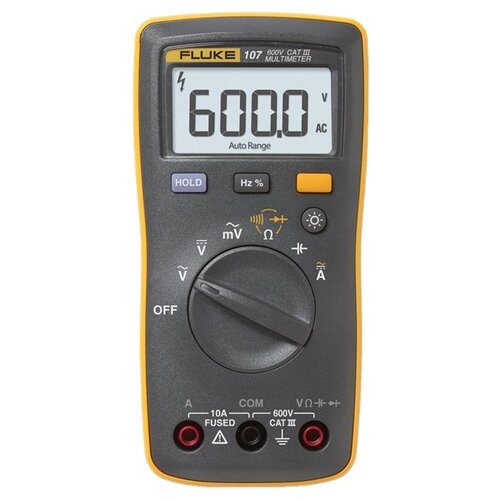 Мультиметр цифровой FLUKE 107 мультиметр мегомметр fluke 1587t