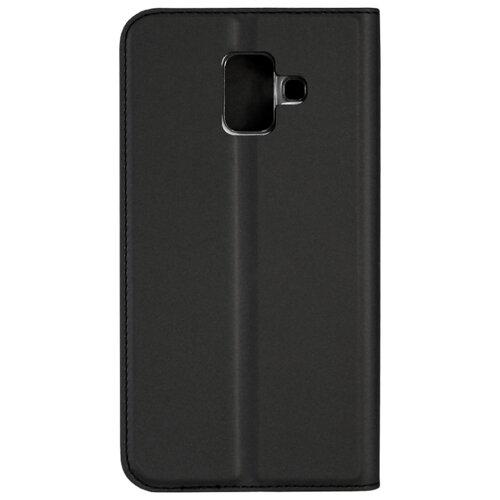 Чехол Volare Rosso для Samsung Galaxy A6 (искусственная кожа) черный