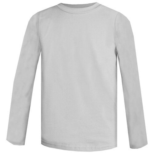 Купить Лонгслив KotMarKot размер 128, серый, Футболки и майки