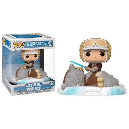 Купить Фигурка Funko POP! Фигурка Funko POP! Deluxe: Star Wars: Han & Taun Taun (Exc) 49756, Игровые наборы и фигурки