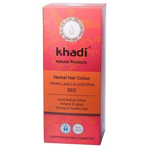 Хна Khadi Naturprodukte Хна, амла и ятрофа, 100 г масло для волос хна розмарин амла indian khadi 200 мл