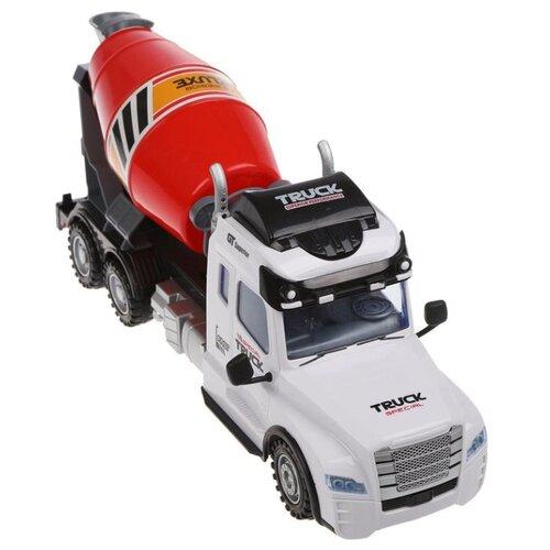 Бетономешалка Наша игрушка 688A-3 57 см белый/красный, Радиоуправляемые игрушки  - купить со скидкой
