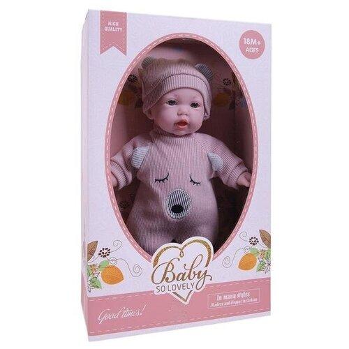 Кукла Junfa toys Baby so lovely, 28 см,1910-4 пупс junfa toys baby so lovely 30 см 1917 2