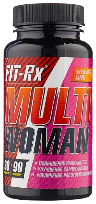 Минерально-витаминный комплекс FIT-Rx Multi Woman (90 таблеток) нейтральный
