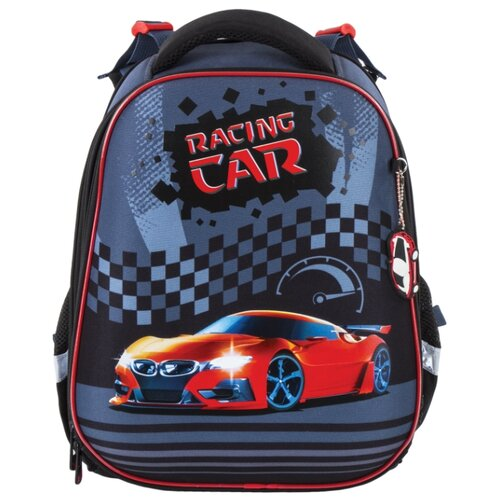 Фото - BRAUBERG рюкзак Premium Racing car (228781), черный/серый/красный brauberg сумка для обуви racing car 229171 черный