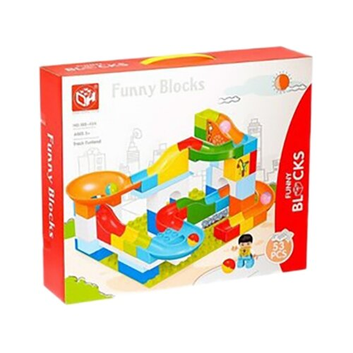 Конструктор Kids home toys Funny Blocks 188-434 Track Funland конструктор kids home toys happy farm 188 133