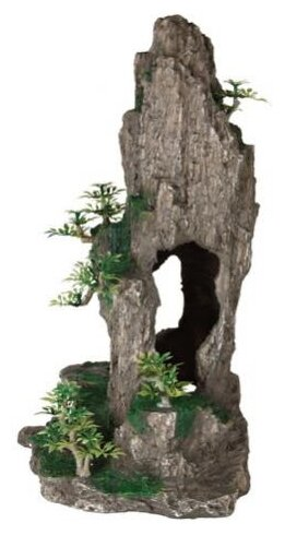 Грот TRIXIE Скала с пещерой с растениями (8858) высота 23.5 см