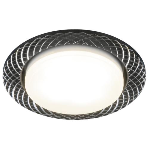 Встраиваемый светильник Elektrostandard 1071 GX53 BK кухонный светильник elektrostandard 4690389084195